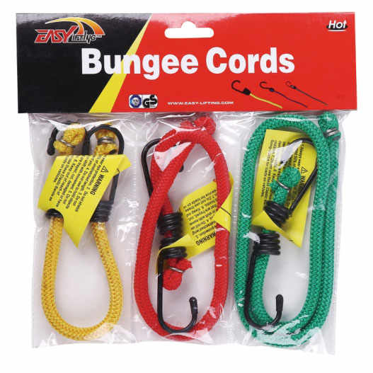 3pc bungee cords set Thumb 1